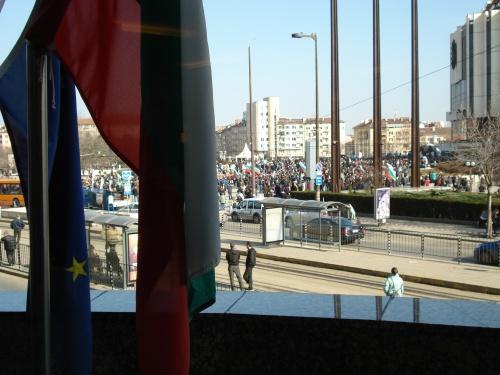demos w flag